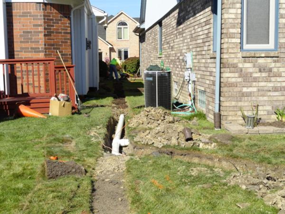 d u0026e landscaping u0026 grading u2013 drain tile