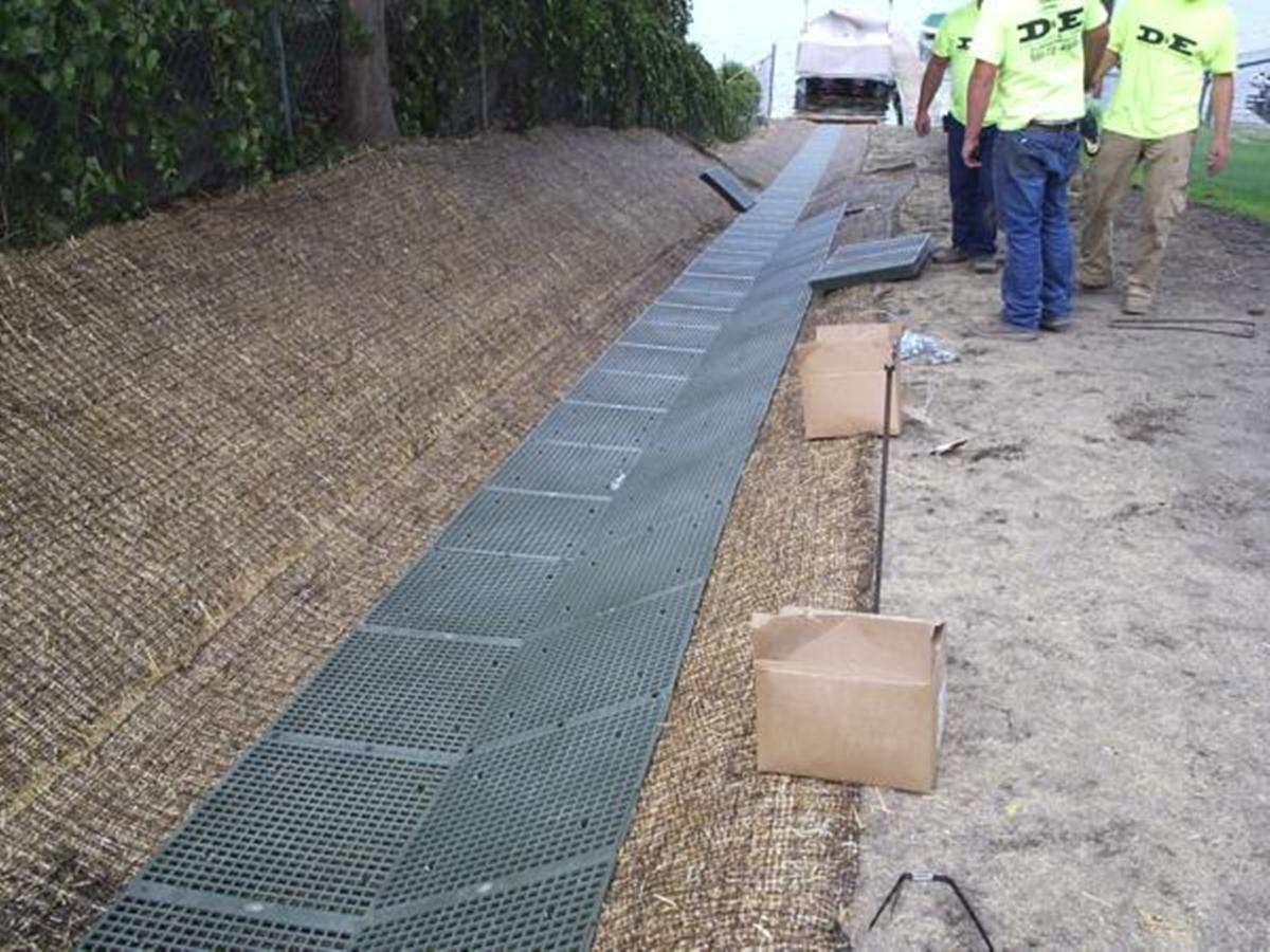 De landscaping grading drain tile ppazfo